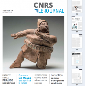 Journal du CNRS, numéro 278 (automne 2014) : – Enquête sur la fraude scientifique. – Le plagiat à l'ère du copier-coller.