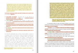À gauche la thèse de Victor Martinez (2008); à droite, la thèse d'Amélie Collet.